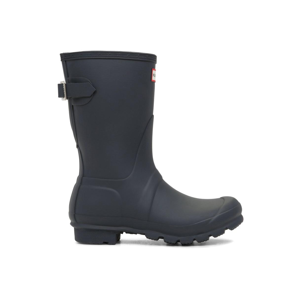 6f59ba5067aa Waterproof Women s Original Short Adjustable Rain Boots in Navy. Previous.  default view ...