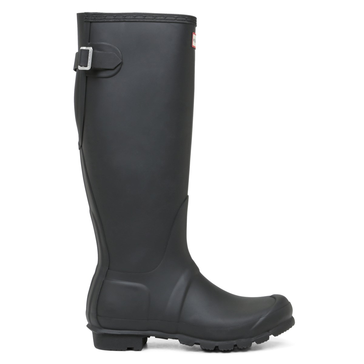Women's Original Back Adjustable Black Rain Boots