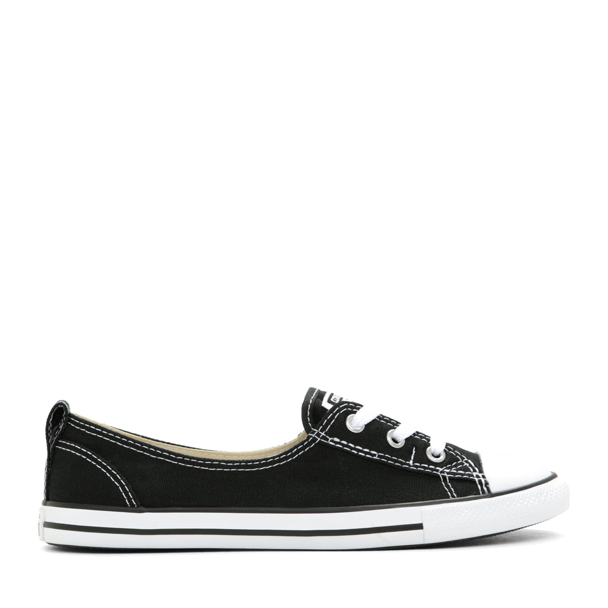 Women's Chuck Taylor All Star Canvas Ballet Slip-On Sneaker