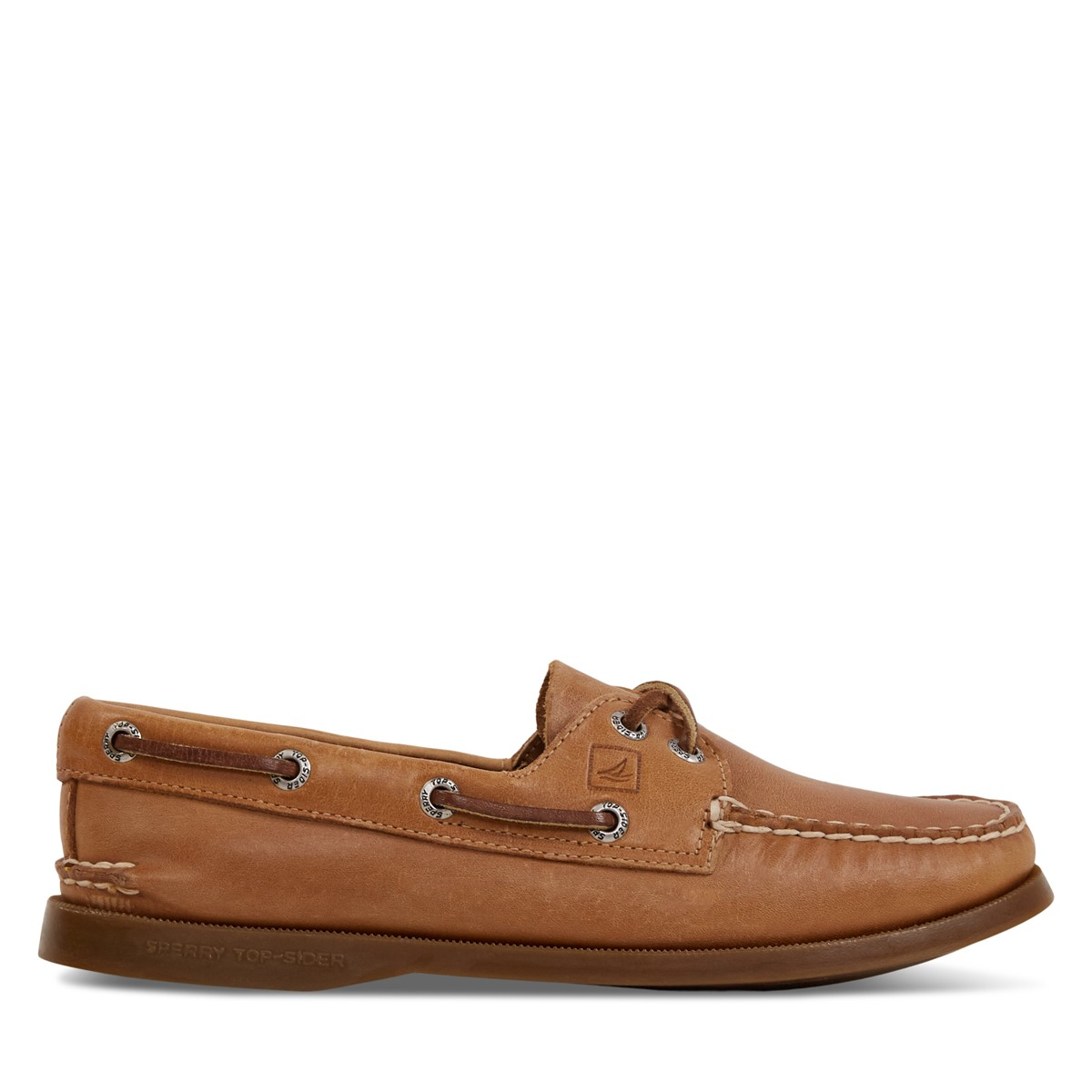 Women's Authentic Original 2-Eye Boat Shoes in Tan