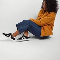 Women's Gazelle Sneakers in Black