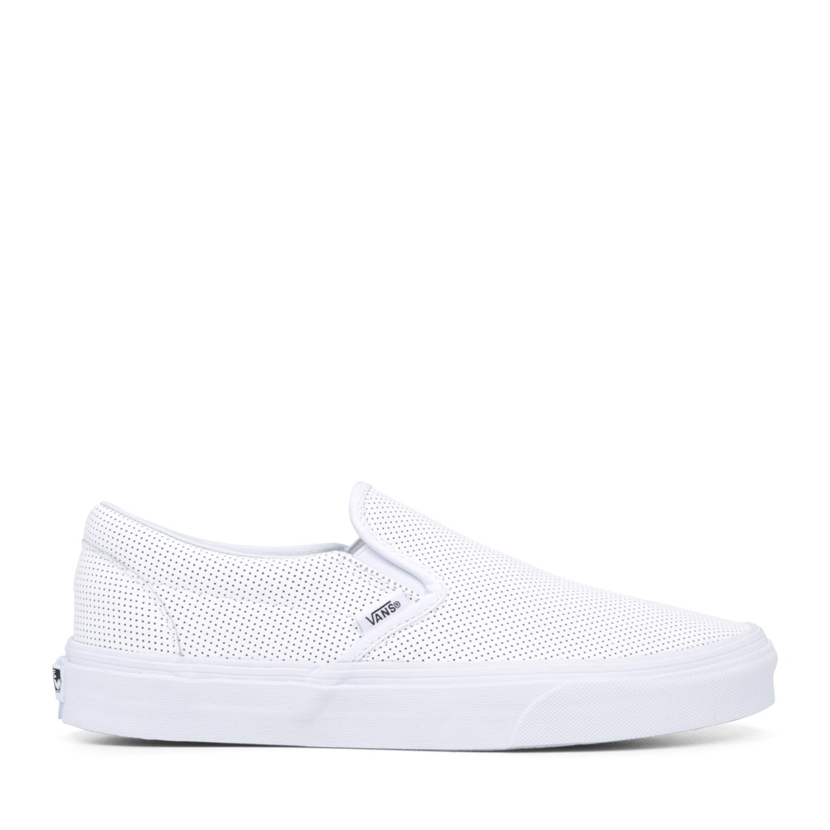 Women's Classic Perforated Leather Slip-On