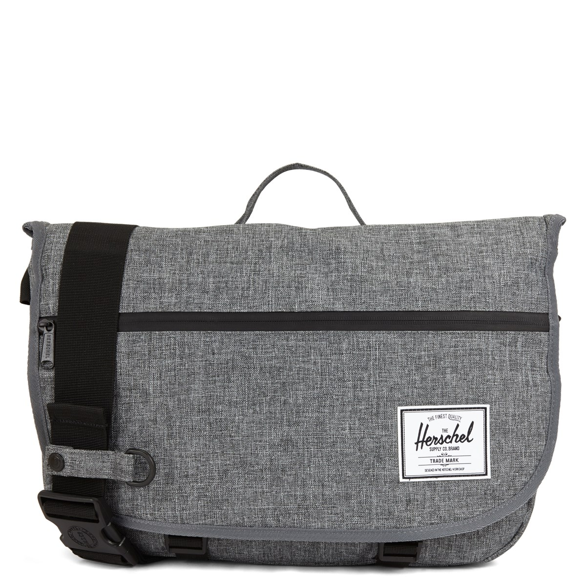 Pop Quiz Dark Grey Messenger Bag
