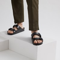 Men's EVA Arizona Sandal in Black
