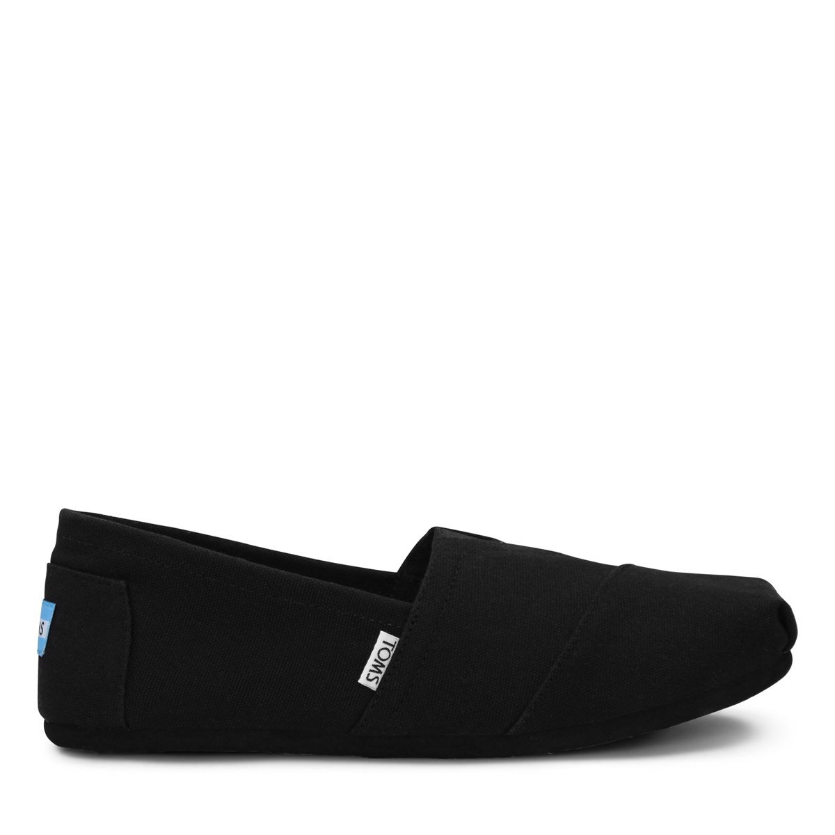 Men's Alpargata Slip-On Shoes in Black