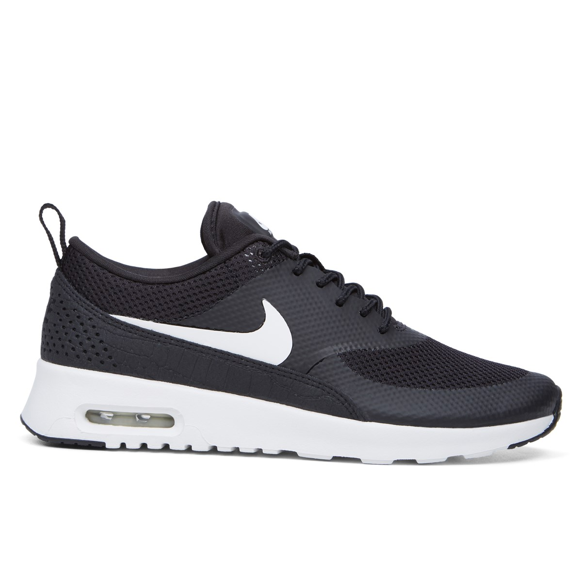 Women's Air Max Thea Black Sneaker | Little Burgundy