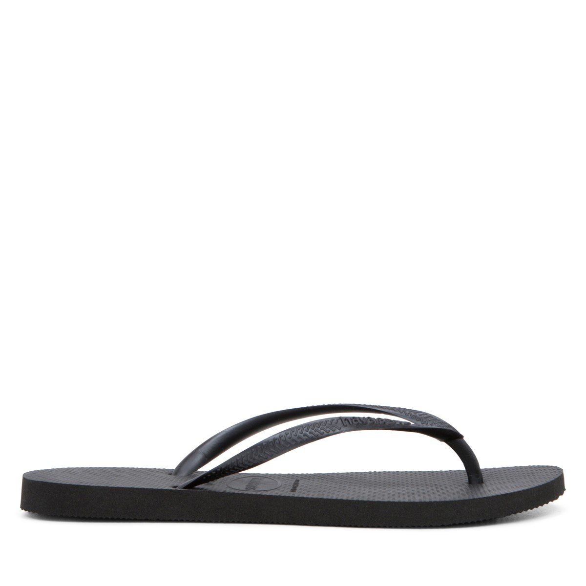 Women's Slim Black Sandal