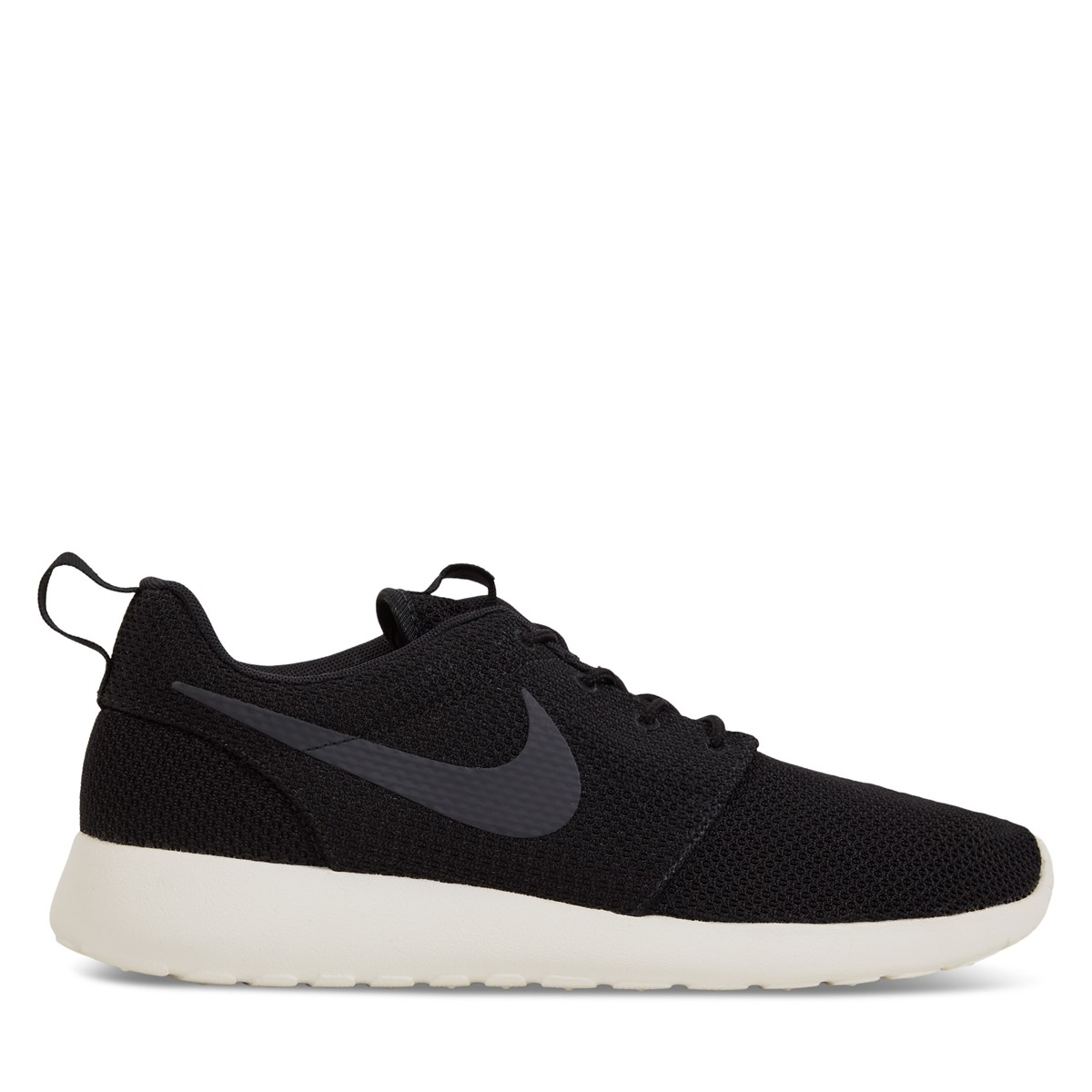 Men's Roshe One Black/White Sneaker