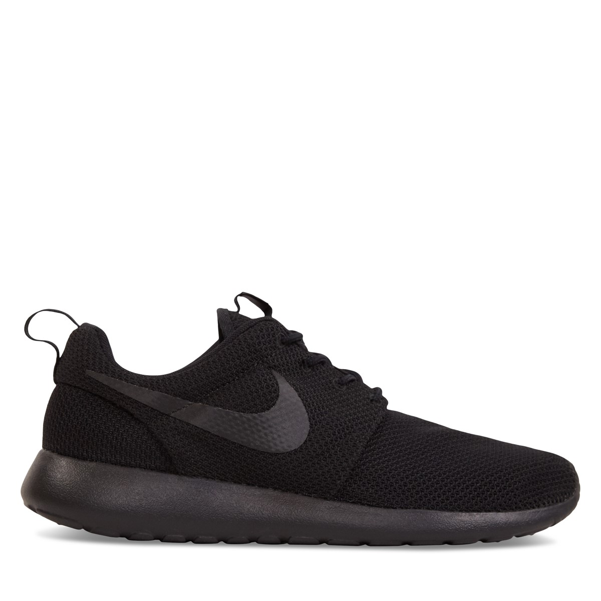 Men's Roshe One Black Sneaker