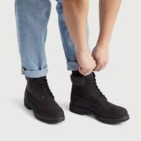 Men's 6-Inch Premium Boots in Black