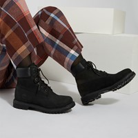 Women's 6 Inch Premium Boots in Black